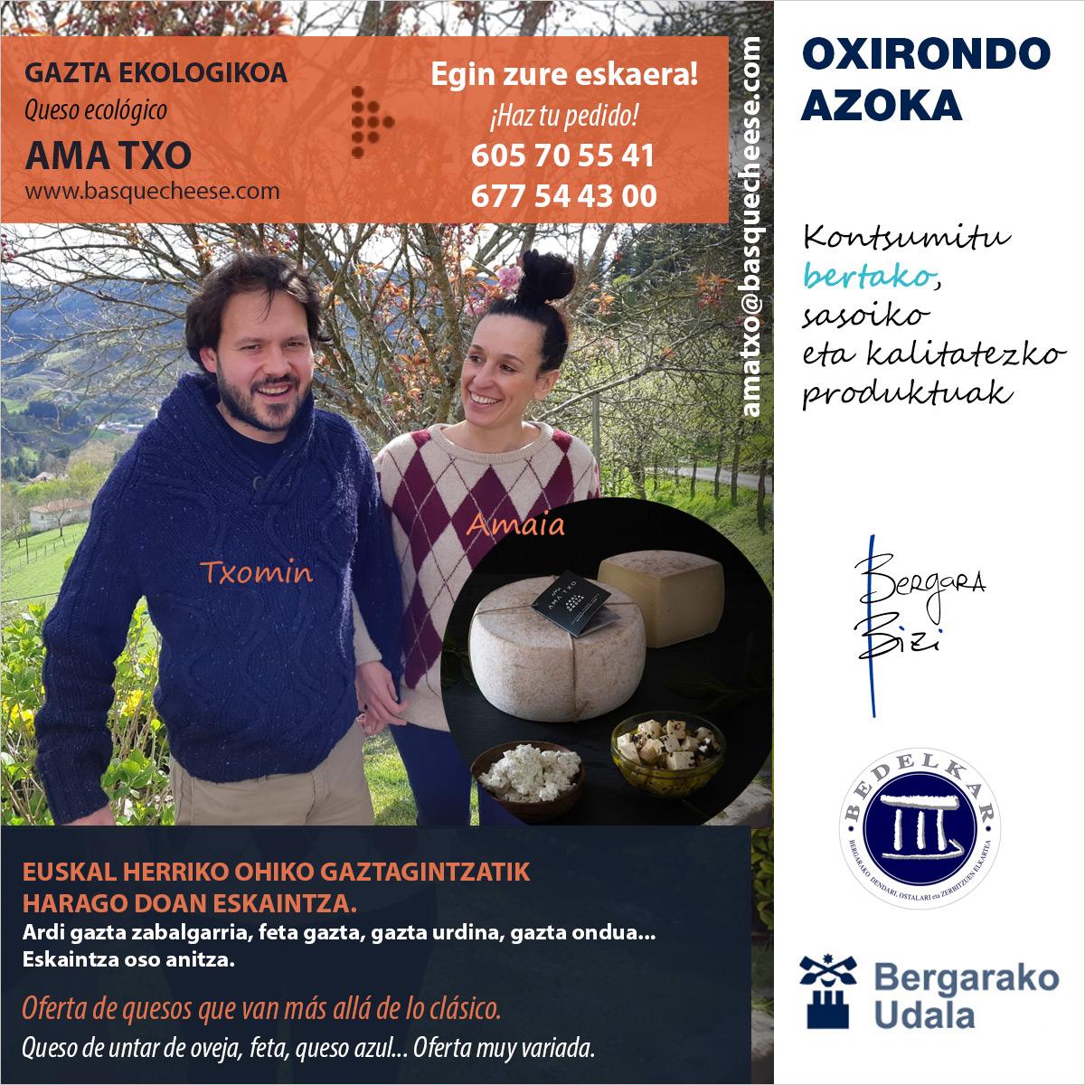 Te redirigimos a la ficha de Ama-Txo en el mercado de Oxirondo de Bergara